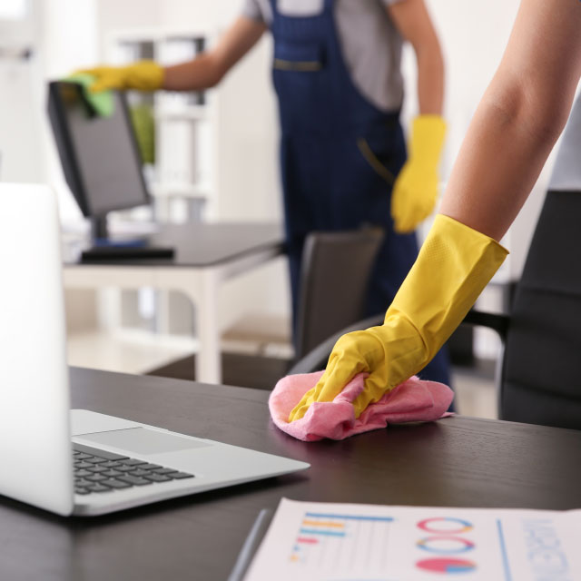 Office cleaning from Bourne to Clean
